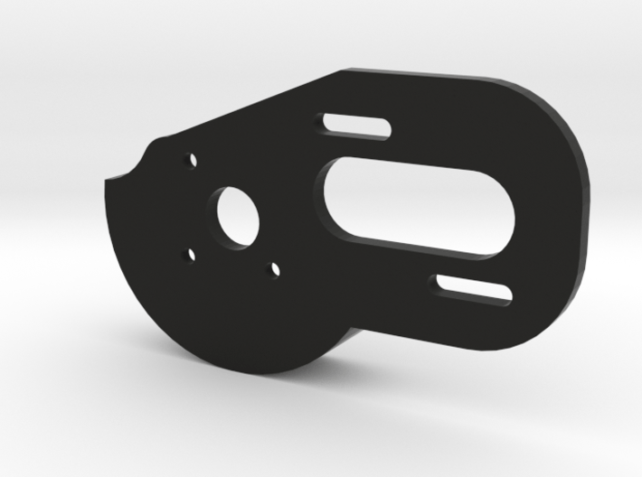 V1 TLR 3 Gear Laydown Motor Plate (with Spur Guard 3d printed