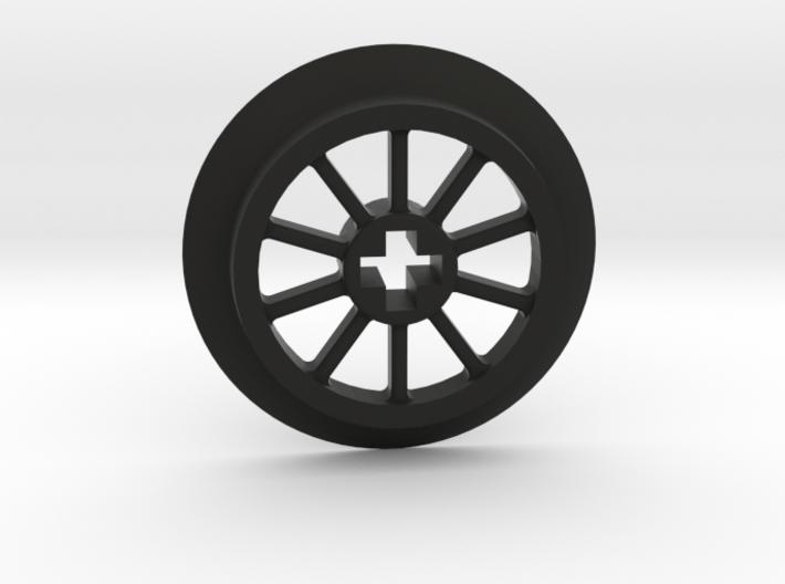 Medium Small Thin Train Wheel 3d printed