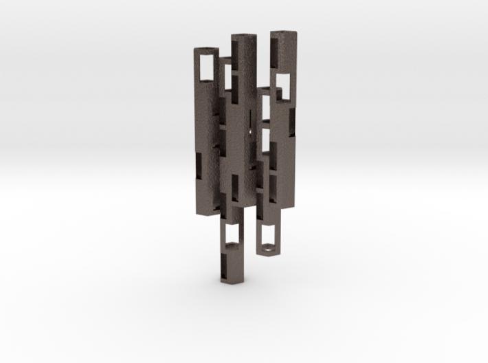Boundary Colony Pendant 3d printed