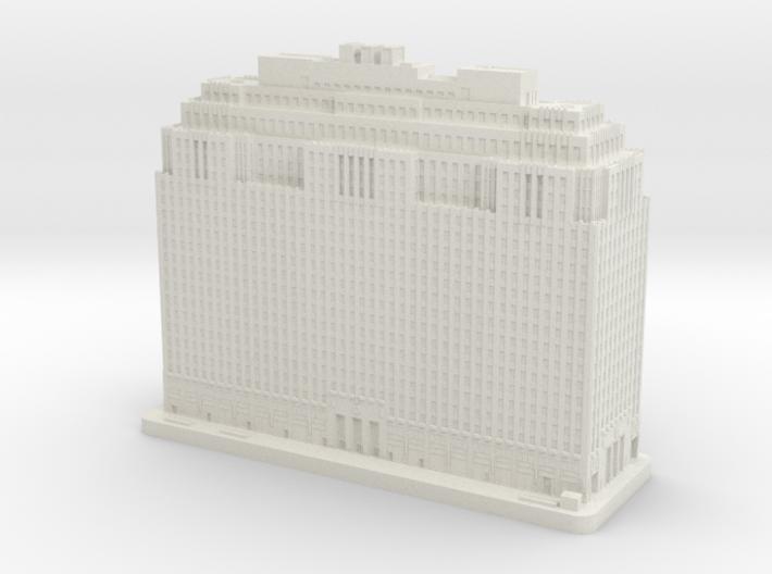 One Penn Center (1:2000) 3d printed