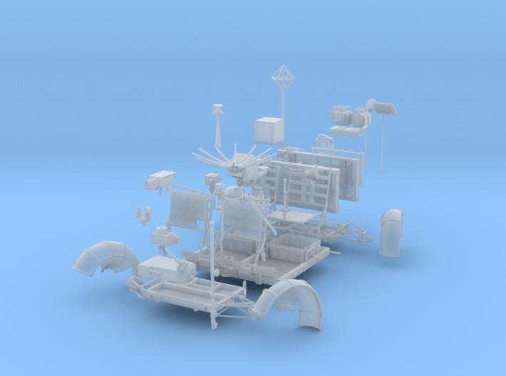 LRV Parts-right 3d printed