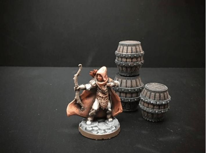 Elf Ranger (28mm/Heroic scale) 3d printed