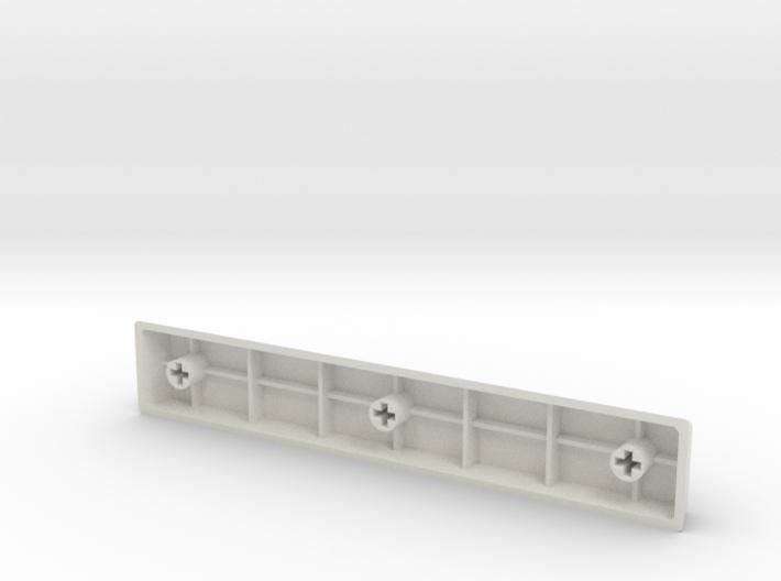 Blank Spacebar Keycap (5.5x) 3d printed