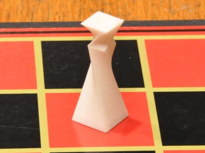 90 Degree Twist Chess Set 3d printed Queen