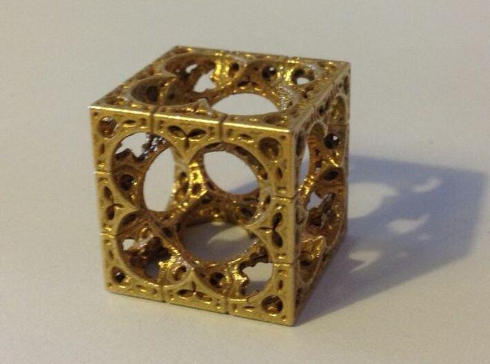 Mystic HyperMenger 2 3d printed Raw Brass