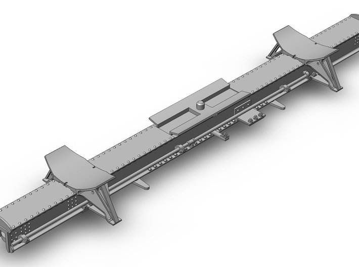 MDC 26 Ft Tank Car Frame (1:87) 3d printed Fits the MDC Old Time tank car