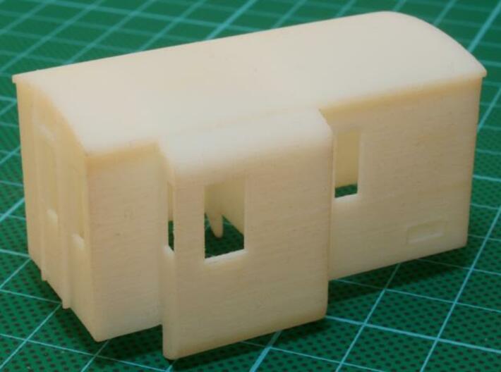 Stalen Dg 3d printed Model printed in White Detail