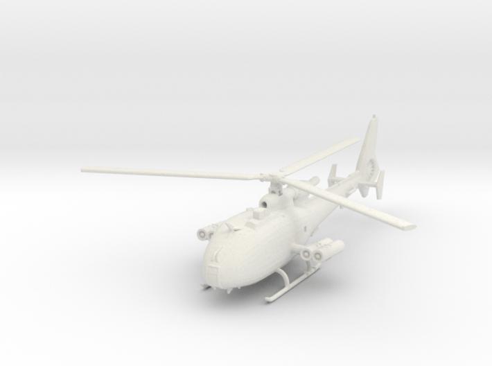 Aerospatiale SA-341M 'Gazelle' (with HOT ATGM) 3d printed