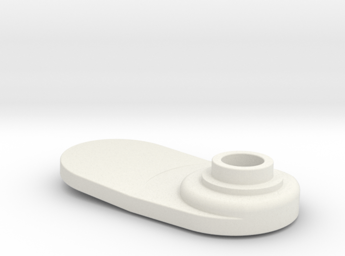 Banana Bracket GC0091 3d printed GCOO91 - WHITE