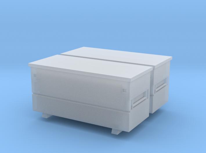 Rigid 60 R 2 Pack 1-87 HO Scale 3d printed
