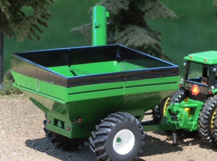 1/64th Scale Brent 678 Grain Cart 3d printed