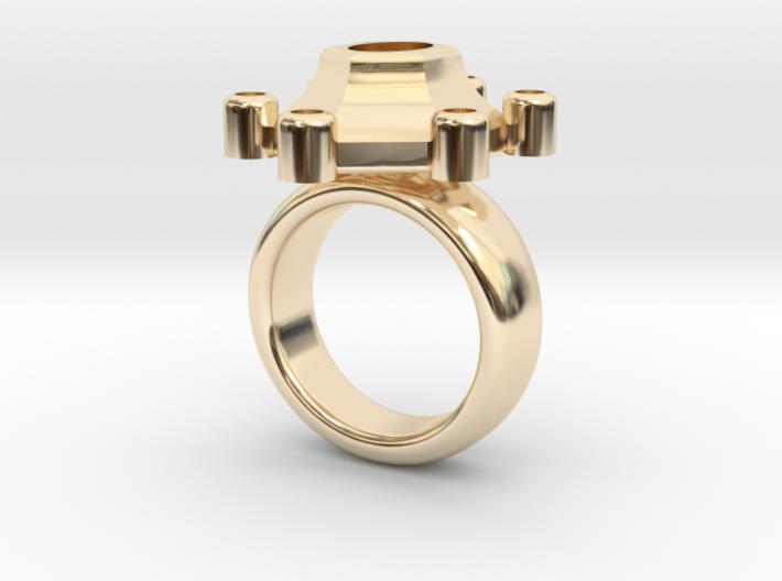 Ring Polaris 3d printed