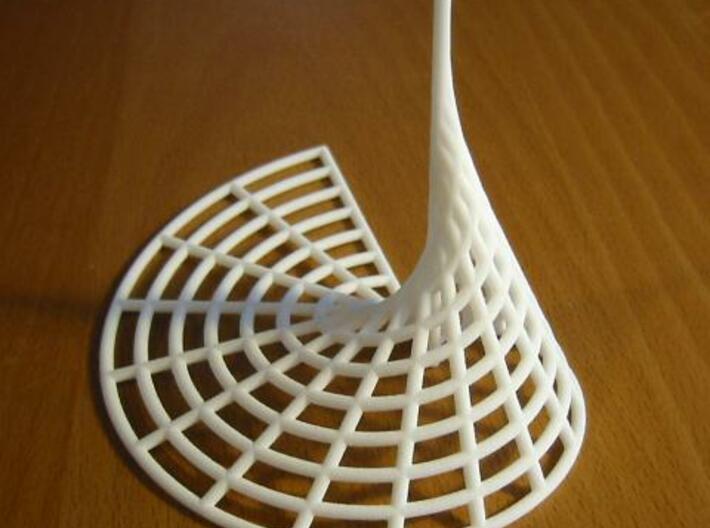 Archimedean Spire 3d printed IRL.