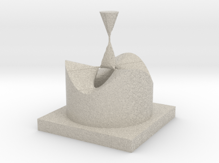 Affine Form of 4 - A1 Type Singularities [16] 3d printed