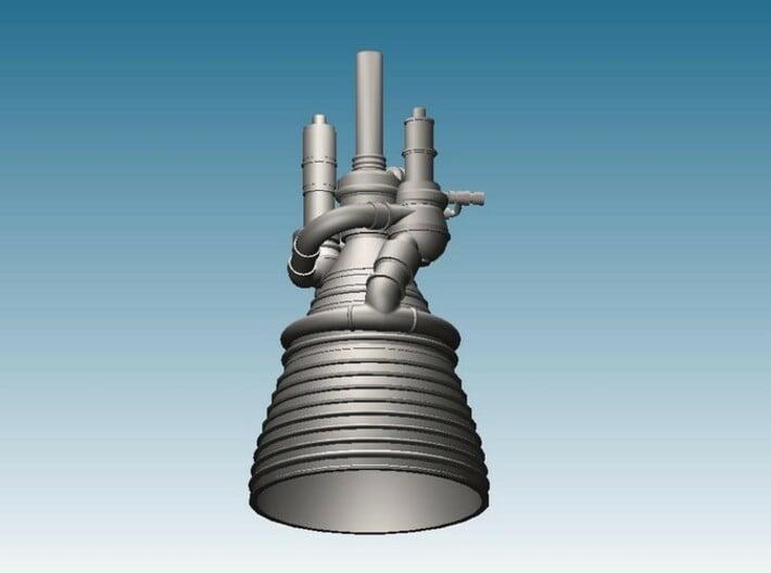 J-2 Engine (1:72) for Saturn IB or V 3d printed CAD Render