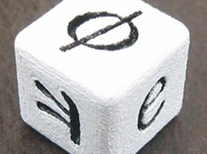 Mathematician's Die 3d printed φ e π photo