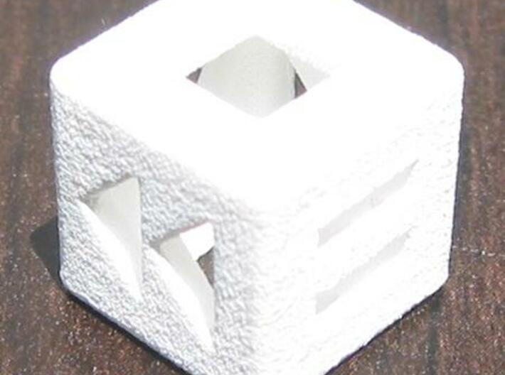 Shuffle Die 3d printed Stop / Rewind / Pause Photo