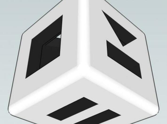 Shuffle Die 3d printed Pause / Stop / Skip Rendering