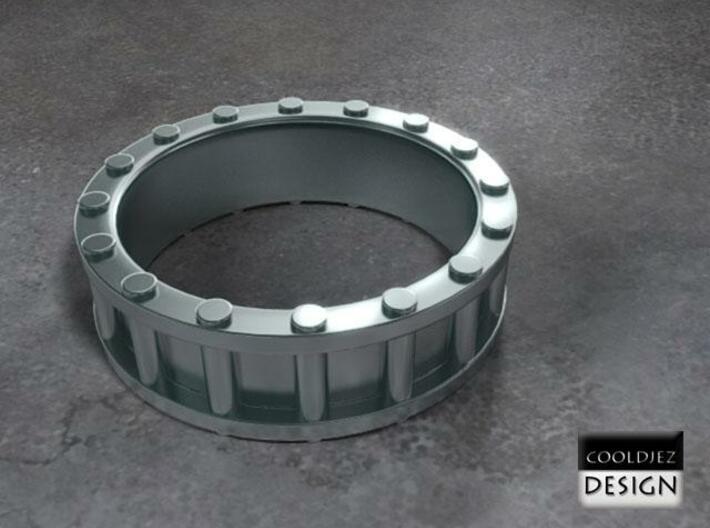 Ring -Columns 2 3d printed Render