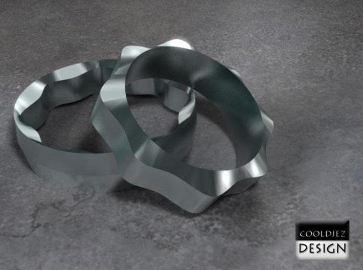 Ring - Wedding Gent 3d printed Render