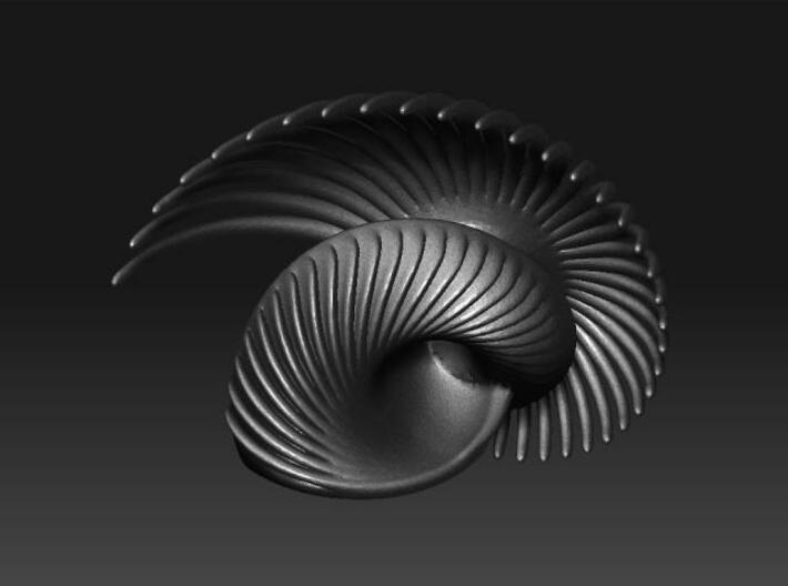 Fractal Conch -2(M) 3d printed Description