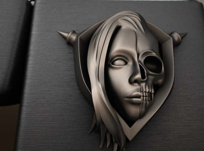 Half skull Ver.2 3d printed