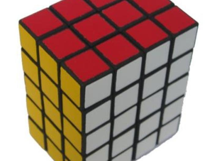 3x4x5 cuboid puzzle (fully functional) 3d printed The 3x4x5 cuboid in solved state