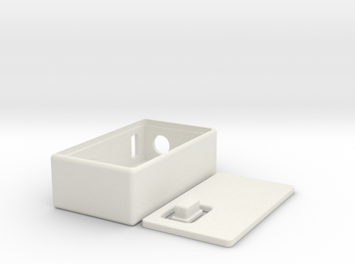 Dr.Taly´s box mod v1 rectangular firebutton all in 3d printed