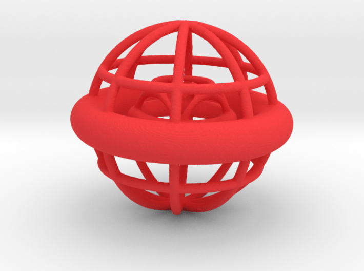 Gyrocage 3d printed