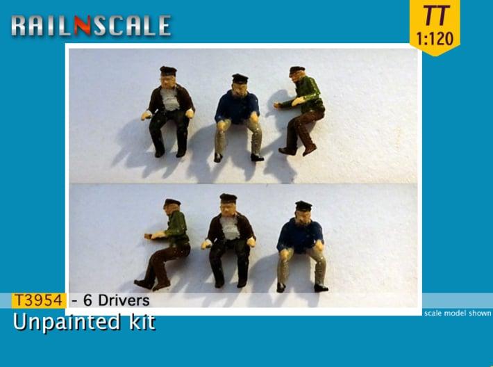6 Drivers (TT 1:120) 3d printed