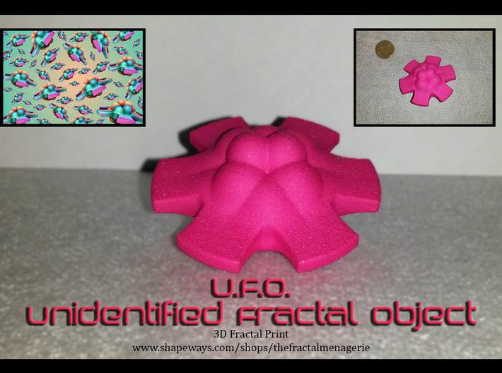 U.F.O. (Unidentified Fractal Object) 3d printed