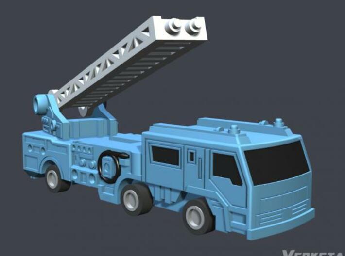 WST Hot-fire Modelkit 3d printed Firetruck mode