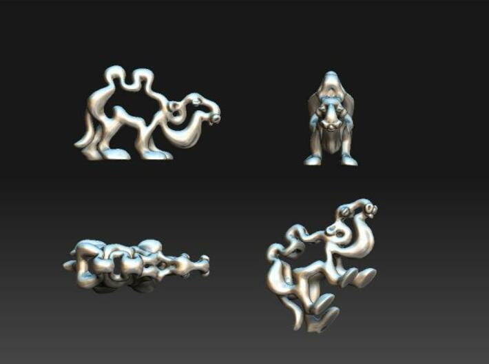 Cartoon Camel 3d printed Description