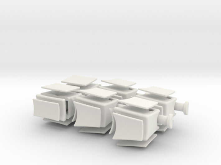 Inverted 1x2x3 V2 3d printed