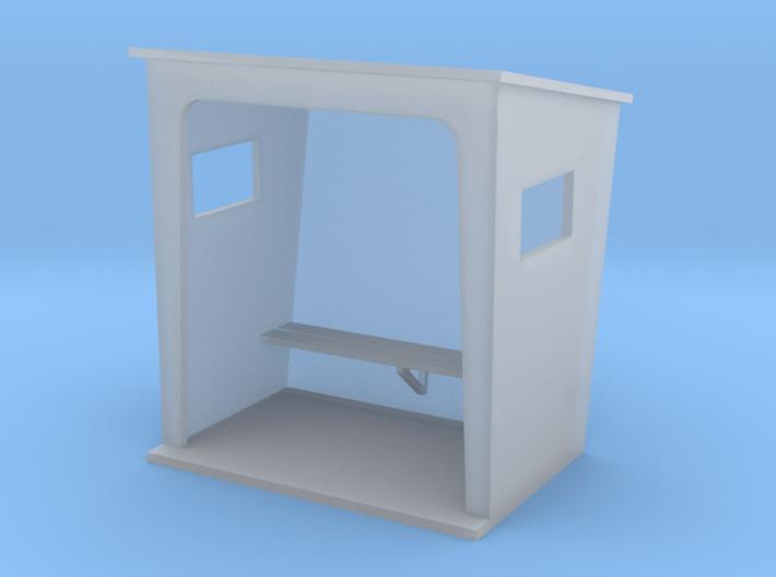TJ-H01131 - Abribus beton, petit 3d printed
