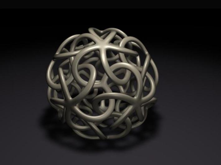 Starfish's Ball 3d printed rendered view