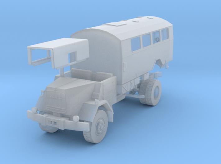 MAN 630 L2A, Koffer mit Fenster 1:120 Spur TT 3d printed