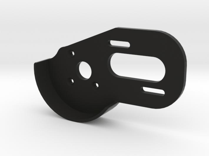 V1 BPERC 4-Gear Laydown Motor Plate (With Guard) 3d printed