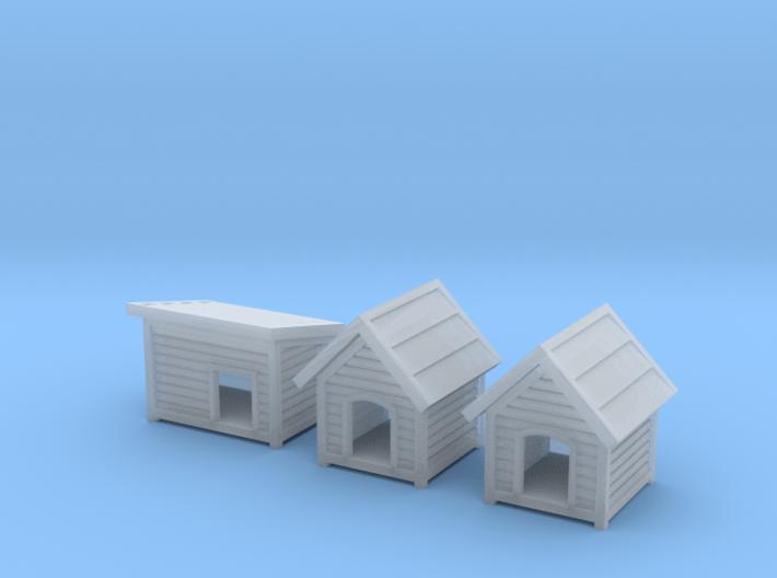 TJ-H01188 - Niches pour chiens 3d printed
