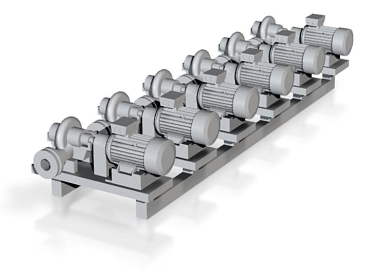 Centrifugal Pump #1 (Size 1 6pc) 3d printed