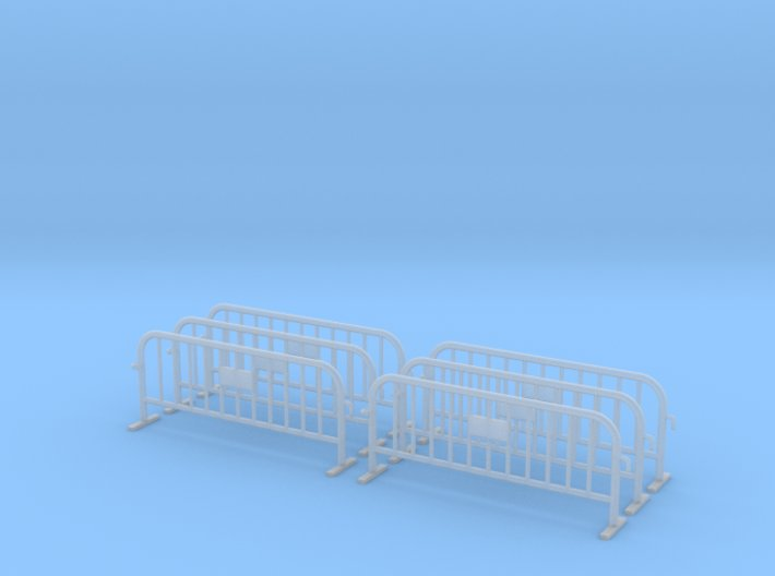 6x PACK 1:50 Small construction fence / Bauzaun 3d printed