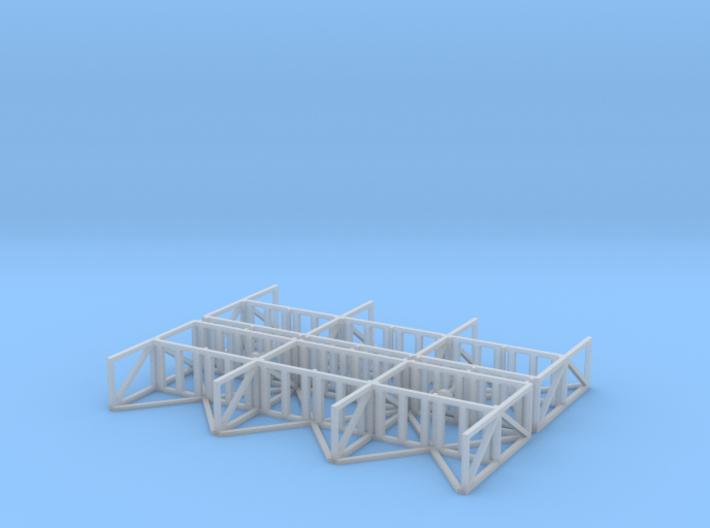 N Scale Warehouse Rack 3d printed