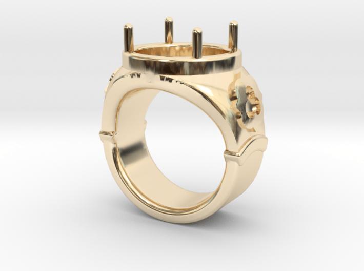 Ring Trefoil 3d printed