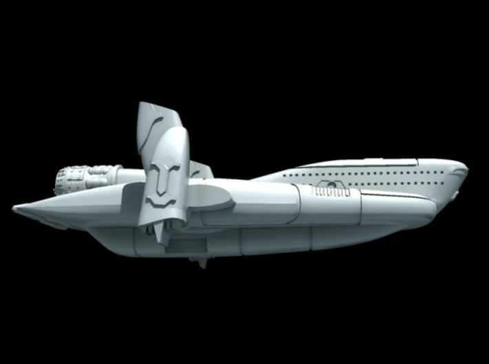 Starlord Liner - No cargo 3d printed Description