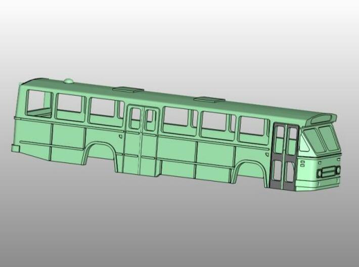 MB200 Streekbus 2 3d printed dubbele deur met dubbele ramen
