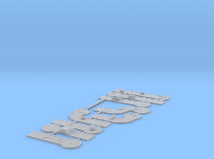 9 Hole Minigolf (N 1:160) 3d printed