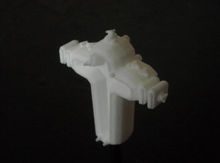 SP202 Stone Portal Escort Cruiser 3d printed Model (on stand) in SWF