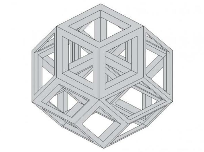 Aurels Puzzle 3d printed Description