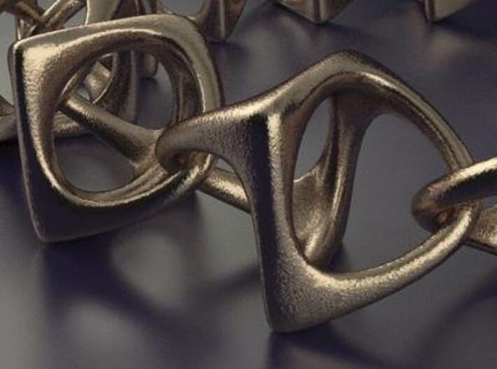 Artistic bracelet 001 3d printed Bracelet 001 detail