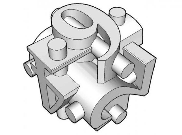 Ligature d6 3d printed